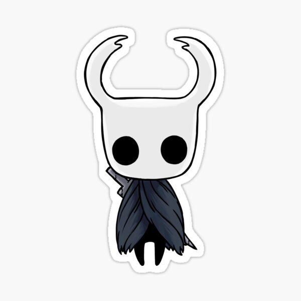 Hollow Knight - The Knight With Holstered Nail Sticker