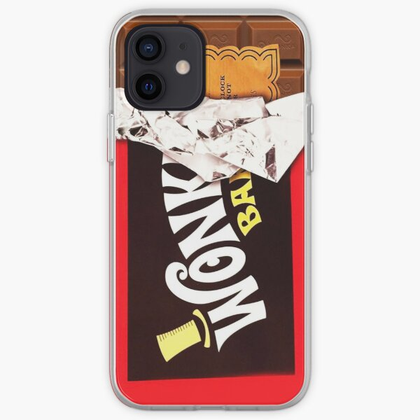 Wonka Bar Golden Ticket iPhone Soft Case