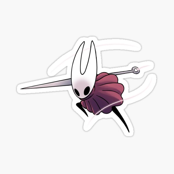 Hollow Knight - Hornet Ready To Attack Sticker