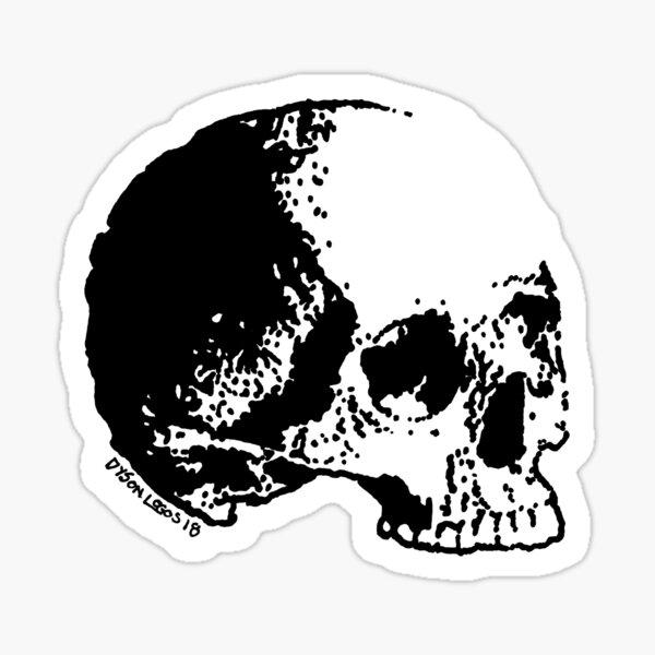 Skull Variations #3 Sticker