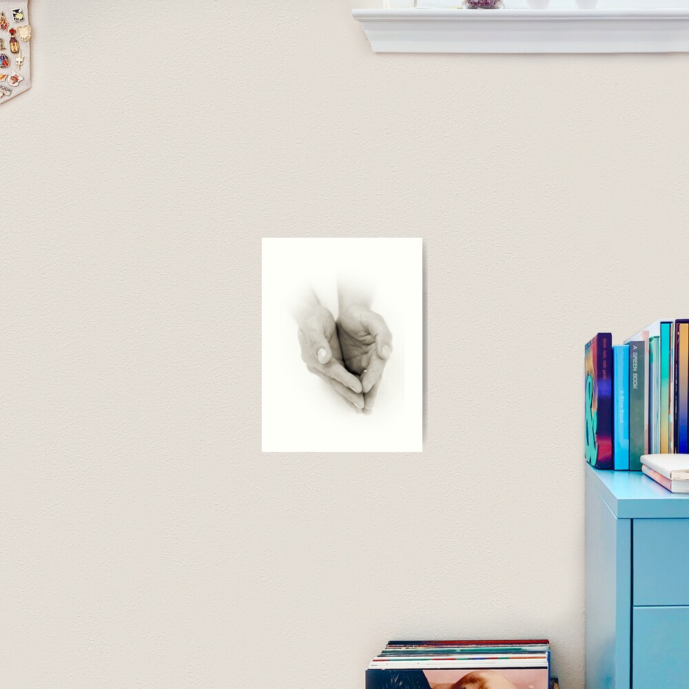 Hands: Receiving Art Print