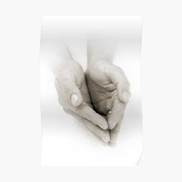Hands: Receiving Poster