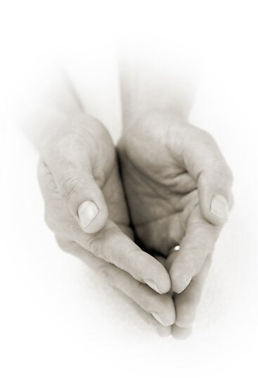 Hands: Receiving by Lenka