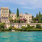 Isola del Garda is the largest island on Lake Garda. by Chris Warham