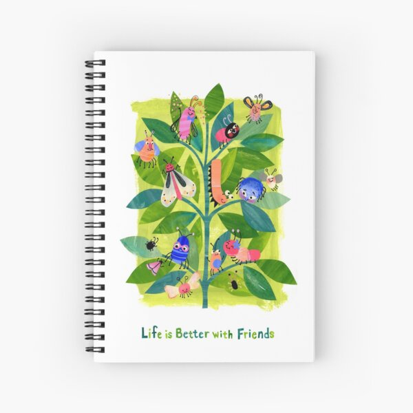Life's Better with Friends Spiral Notebook