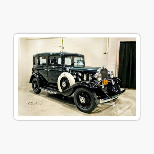 1932 Chevrolet Series BA Confederate Classic Car Sticker