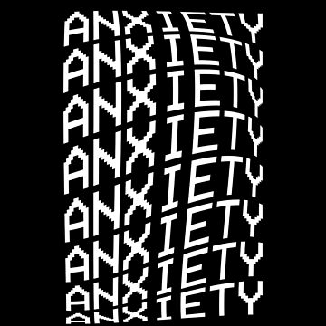 Anxiety VHS aesthetic by dmorissette