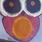 pinky the owl by Lacey  Eidem