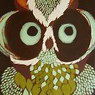 retro owl by Lacey  Eidem