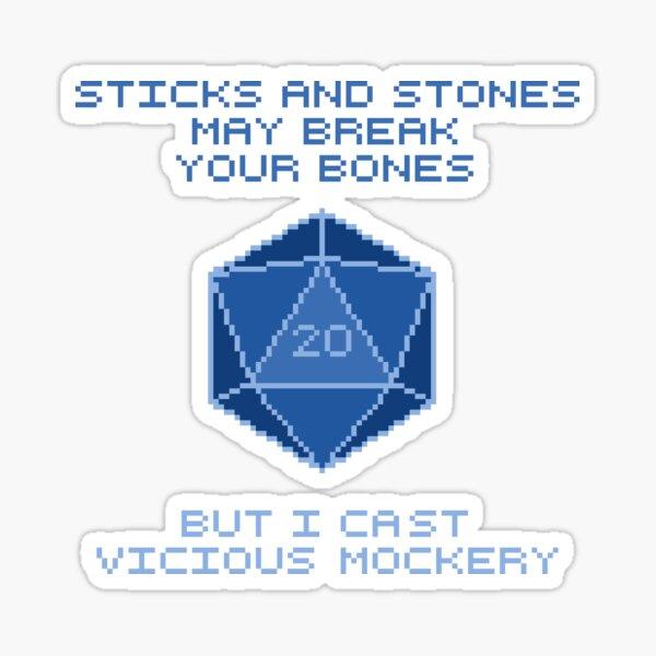 Vicious Mockery Sticker