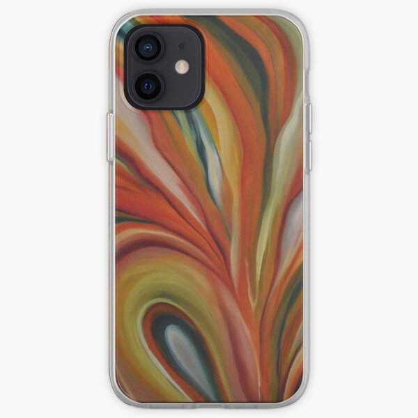 Abstract Floral 2  iPhone Soft Case