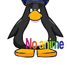 NO anime allowed club penguin cop by Jack O TV