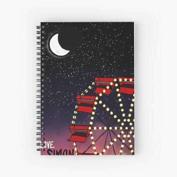 Love Simon Spiral Notebook