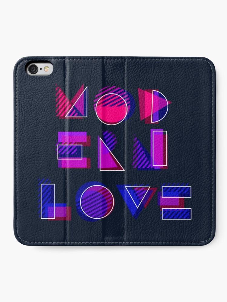 Alternate view of Modern Love (bonus) iPhone Wallet