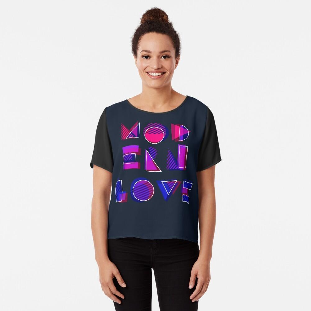 Modern Love (bonus) Chiffon Top