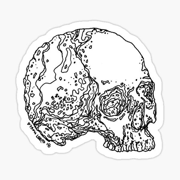 Skull Variations #4 Sticker
