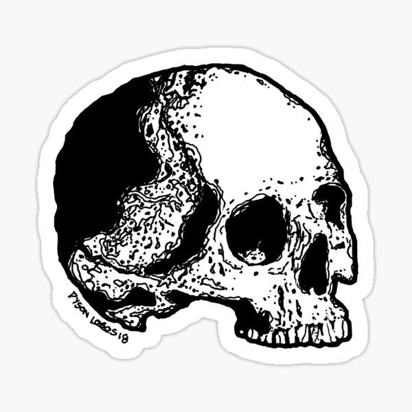 Skull Variations #5 Sticker