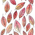 Autumn Leaf Pattern by letteryourlife