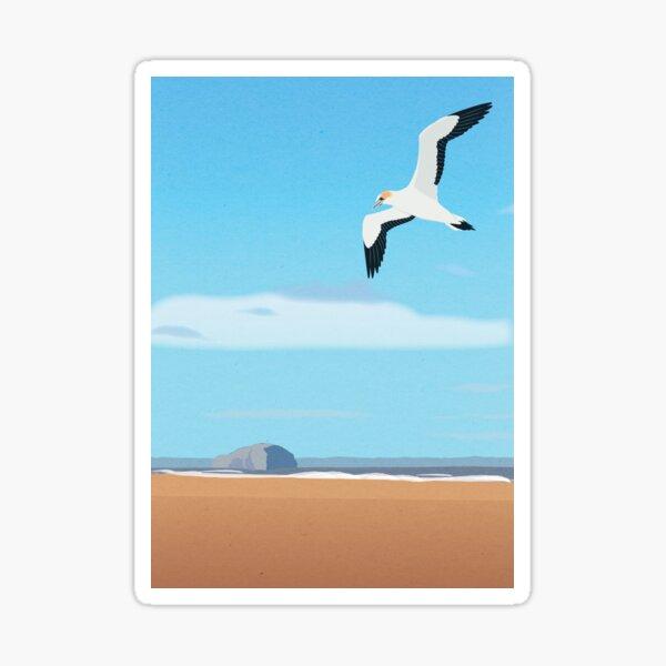 The Gannet and Bass Rock Sticker