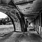 Fort Stevens in Black and White by Kay Brewer
