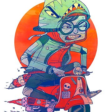 Savage Scooter by tenhundred