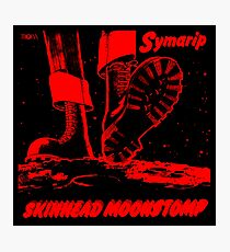 Red Skinhead Moonstomp Photographic Print