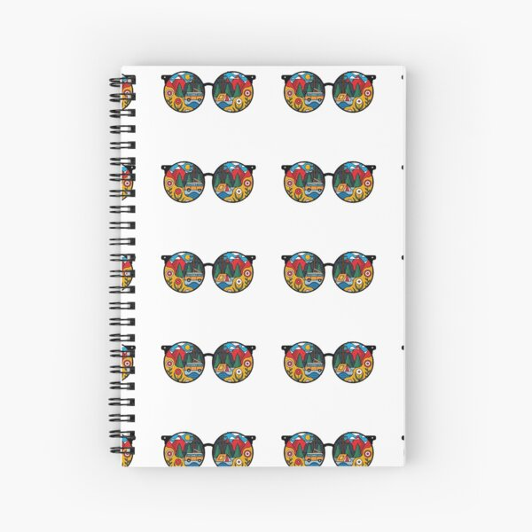 Adventure is a Frame of Mind Spiral Notebook