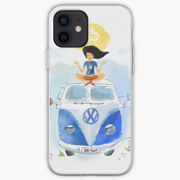 Yoga  Travel California iPhone Soft Case