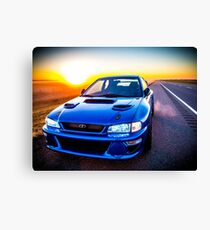 Subaru Sunrise Canvas Print