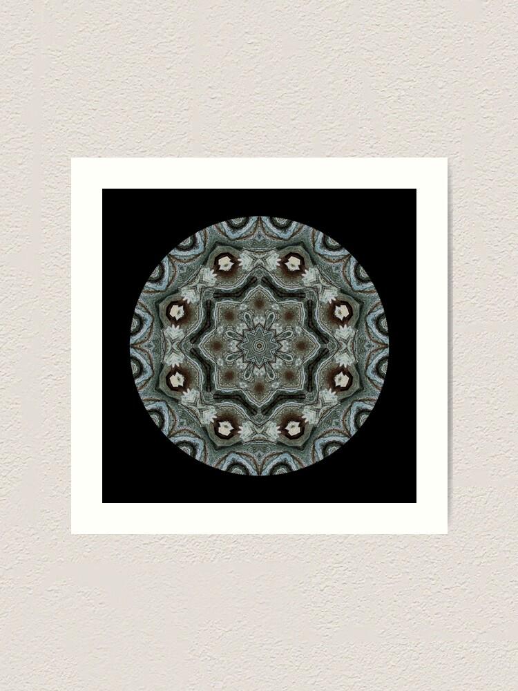 Alternate view of The Greylander Mandala Tapestries I Art Print