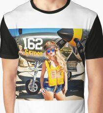 P-38 Pilot Graphic T-Shirt