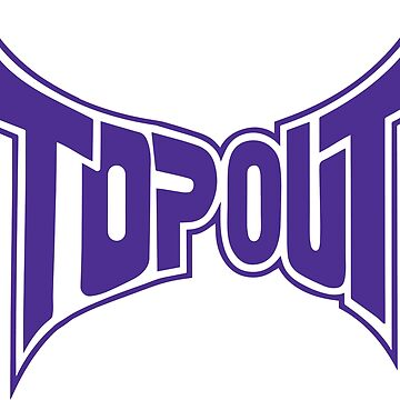 Top Out Blurple Logo by cloudologist