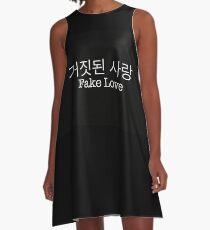 거짓된 사랑 - Fake Love - BTS A-Line Dress