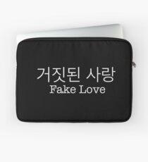 거짓된 사랑 - Fake Love - BTS Laptop Sleeve