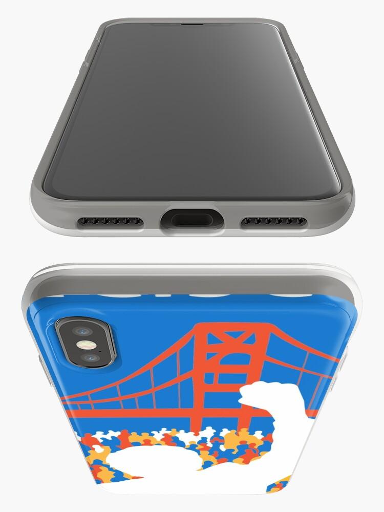 Alternate view of SF Berniecrats iPhone Case & Cover