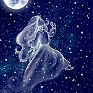 «Chica de la luna» de Silver-Monster