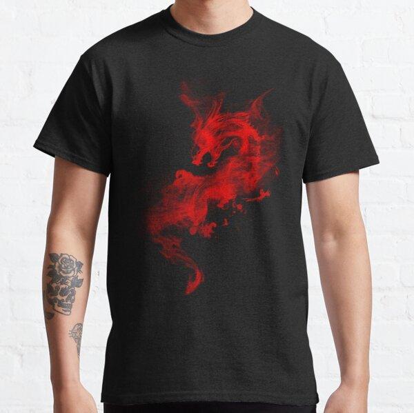 red smoky dragon Classic T-Shirt