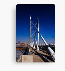 Nelson Mandela Bridge & Walkway Canvas Print