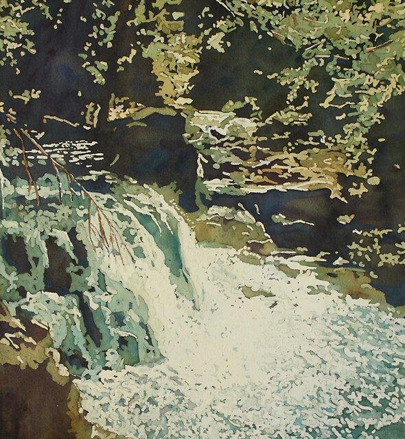 Aqua Falls by JennyArmitage