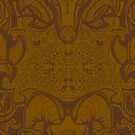 Ramshead Damask (We all return to the dirt, one way or another) by leebradford
