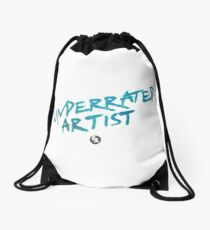 """Underrated Artist"" Drawstring Bag"