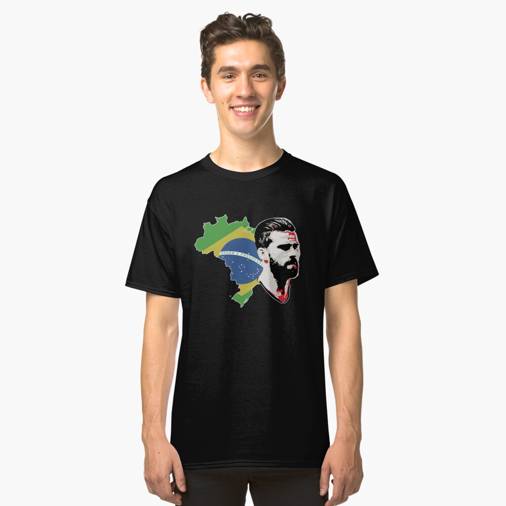 Alisson - Brazil Classic T-Shirt Front