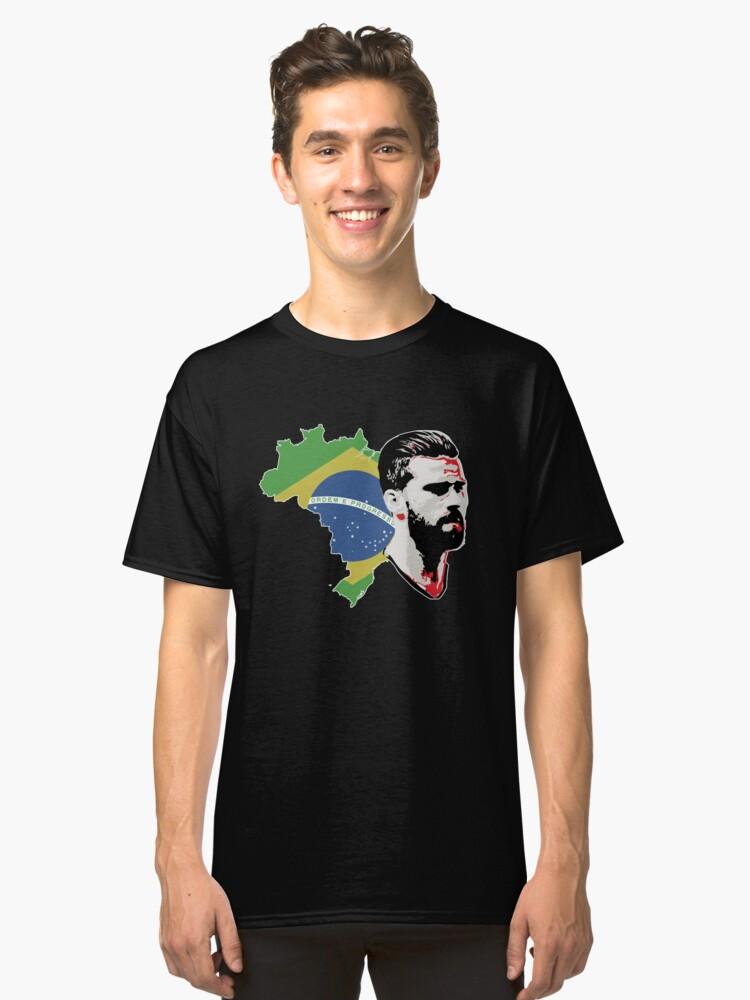 Alisson - Brazil Classic T-Shirt Front