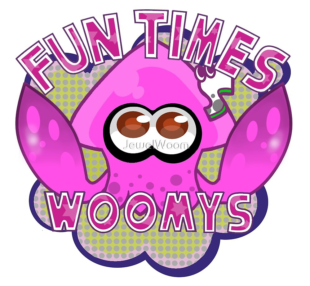 Fun Times With Woomys Logo by JewelWoom