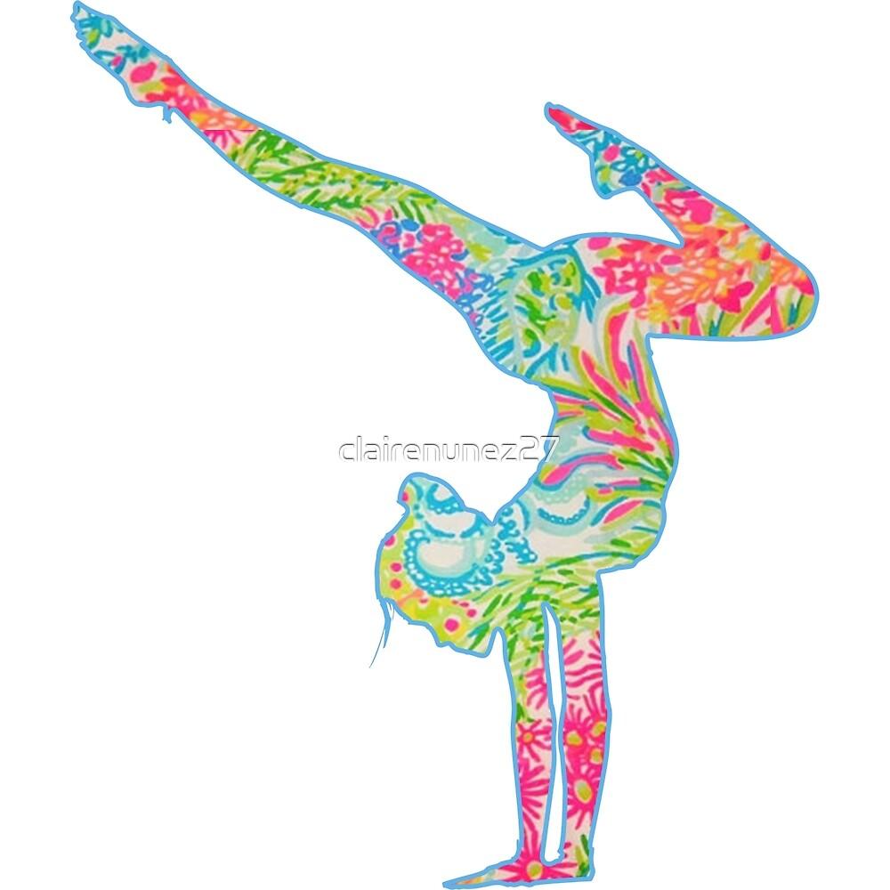 yoga/gymnast by clairenunez27