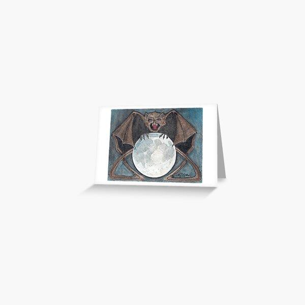 Lunar Chimera Greeting Card