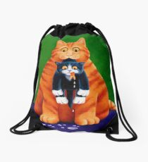 Goldfish Gone Drawstring Bag