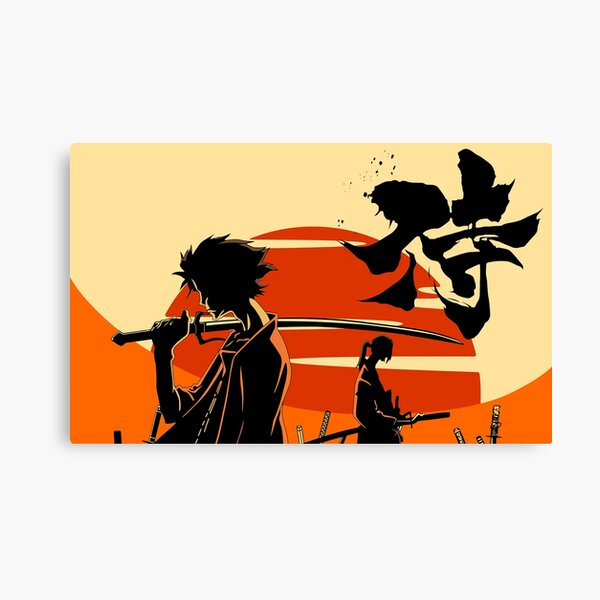 Sunset Samurai Canvas Print