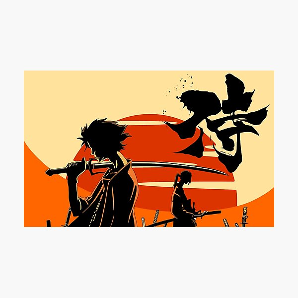 Sunset Samurai Photographic Print