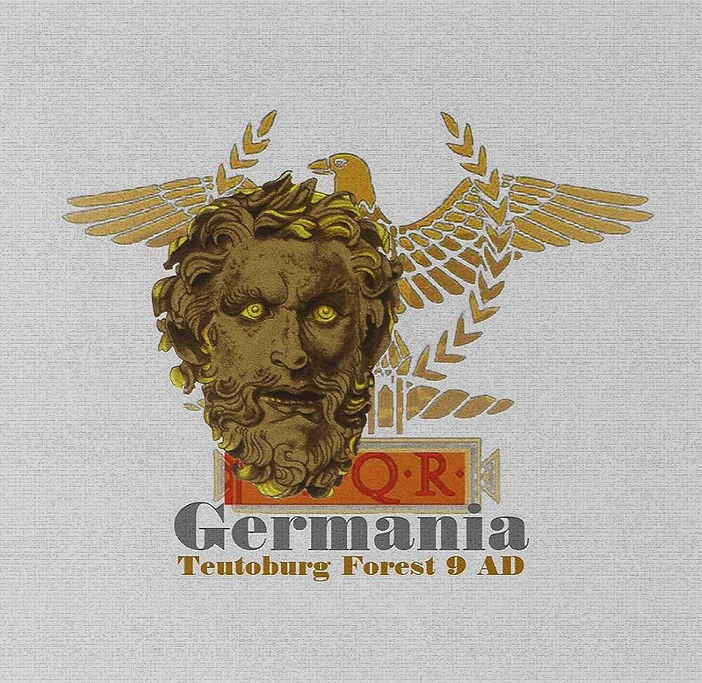 Teutonic Warrior, Teutoburg Forest 9AD by edsimoneit